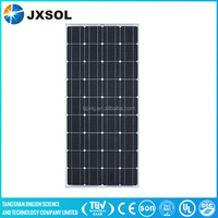 100w mono solar panel for industry use with MC4 connectors junction box