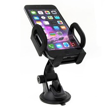 New Universal HLS009 Adjustable 360 degree rotating car holder for samsung note3/note4/note5/s6/s6 edge+