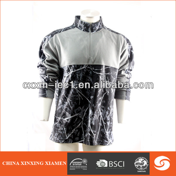 100% polyester hunting jacket for men 2014 new design