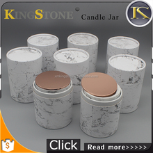 high quality luxury candle jar in packaging boxes