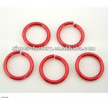Wholesale fancy red plastic o ring