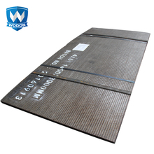 CCO wear resistant steel plates for coal feeder conveyor wear liner