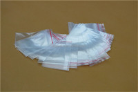 PE transparent ziplock bag for packaging nut and stationery