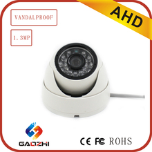 Low Illumination 960P COMS IP66 Dome Indoor Analog AHD Camera