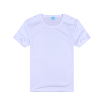 Fast dry polyester fabric blank wholesale t shirts
