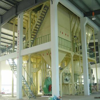 Factory price cattle feed powder production line Hot Selling