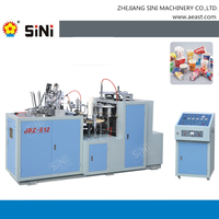 SINI JBZ-S12 pe coated paper ultrasonic automatic paper cup forming machine