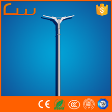 Top efficiency double arm lamp led street light pole