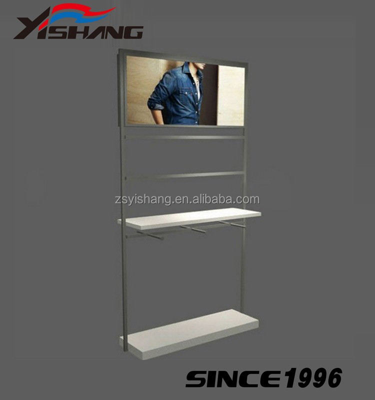 clothes rail metal hanging shirt display used clothing racks for sale