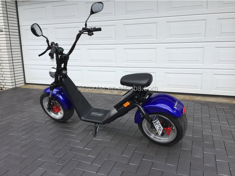 EEC certificated most popular citycoco electric scooter E5 for sale