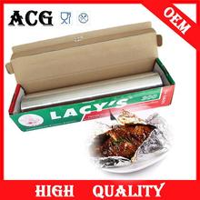class A food aluminium foil packaging with slide cutter