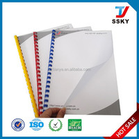 Transparent sheet plastic pvc binding cover factory