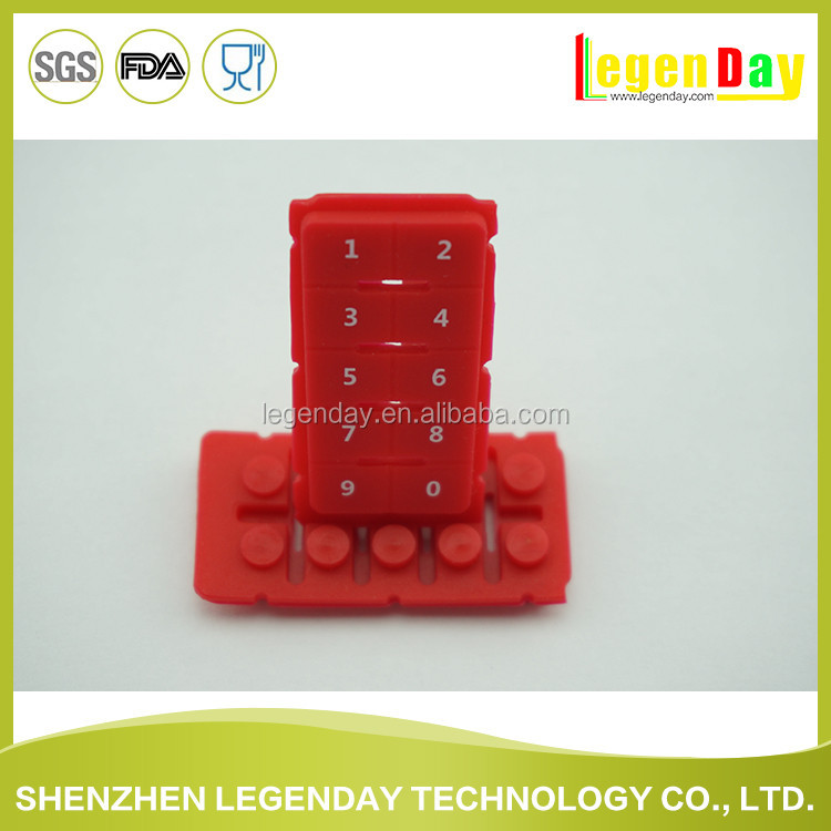 wholesale China market silicone rubber keyboard