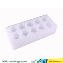 die cut epe foam packaging box White plastic packaging box The egg holder
