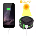 Camping Lantern Solar Power Bank for Charging ,2 IN 1 Lantern & Flashlight