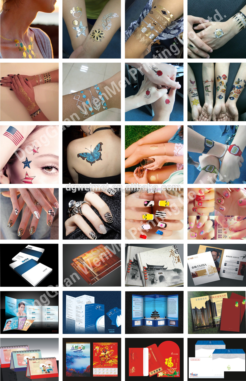 2015 safety jigsaw makeup female nail sticker
