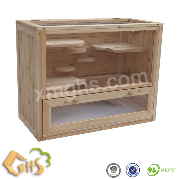 Custom Wooden Hamster Cages