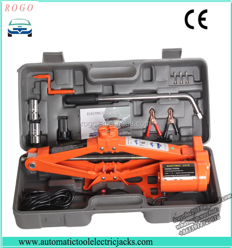 3 tons metal electric mini scissor jack with ce certificate