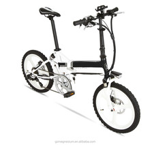 250w 36v 10ah lithium battery Magnesium alloy whee folding electric bike 20inch