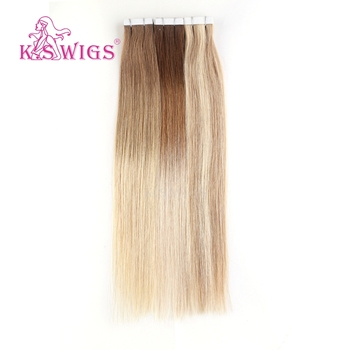 K.S WIGS 20'' beauty adhesive tape for hair extensions dropship