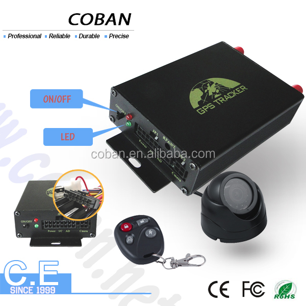 Top quality speed limiter car gps tracking system with Remote locking function gps tracker