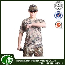 K-ANGO Quality Guarantee Home Style digital urban camo military camouflage t-shirt