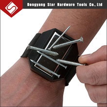 Magnetic Wristbands for Holding Screws, Nails, Drill Bits