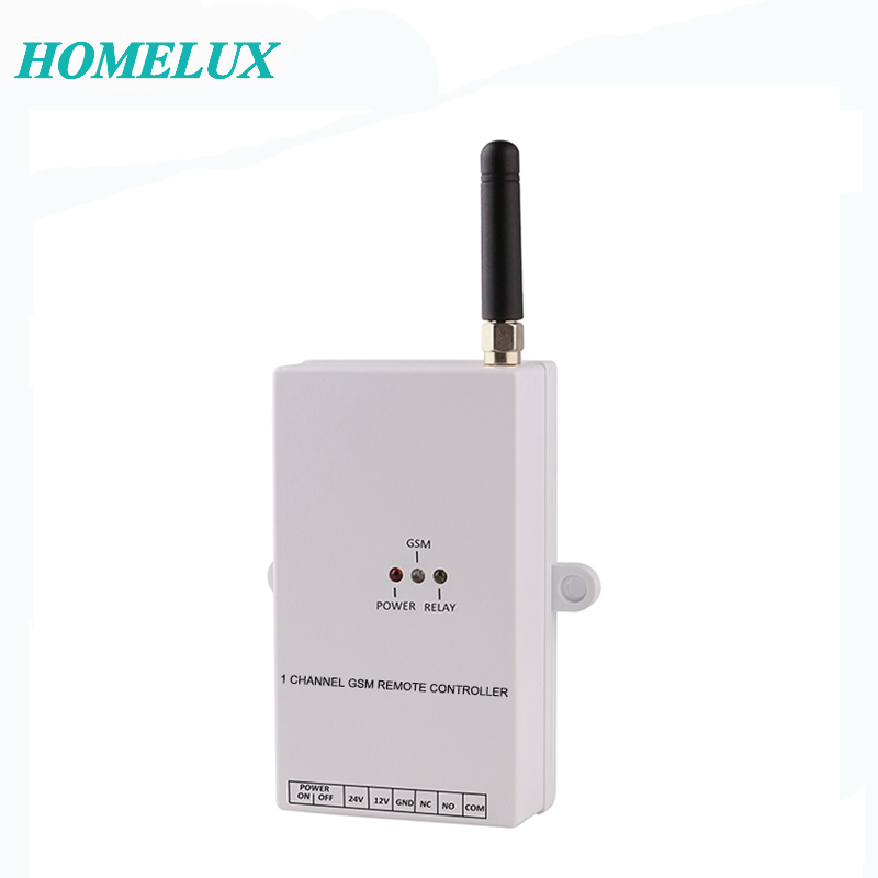 Homelux GSM Wireless Remote Switch, SMS Remote Controller, Home Automation Turn Relay ON OFF by Mobile