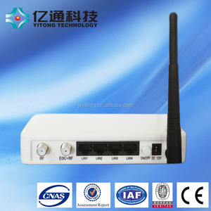 Coax Cable System EoC Slave Modem with WIFI Function