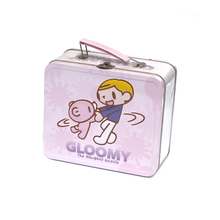High Quality Disposable Small Metal Kids Lunch Box with Lock