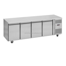 4 Door Stainless Steel Commercial Undercounter Refrigerator/Chiller Refrigerator/Under Bar Refrigerator