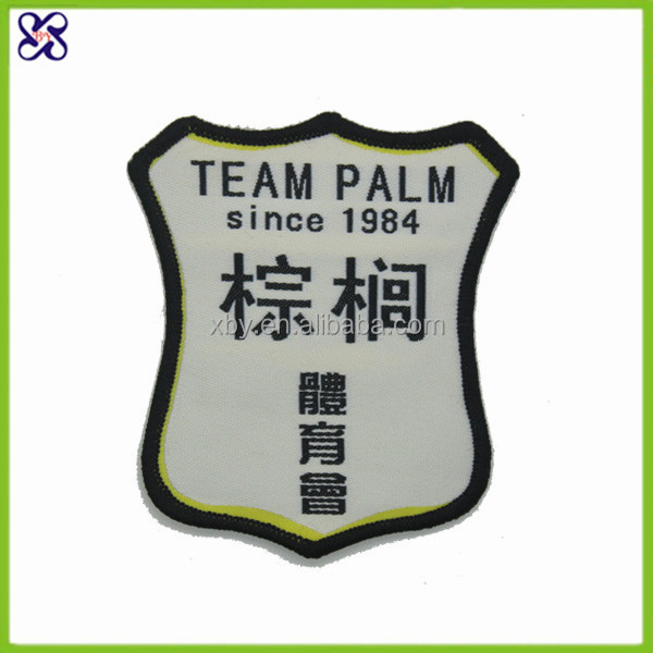2015 patch garments accessories label for soccer club