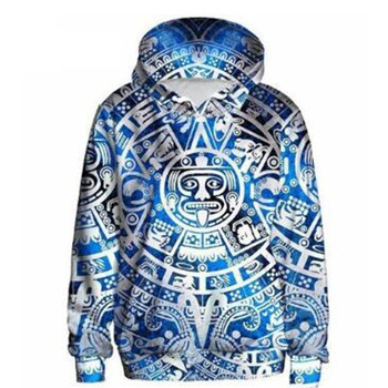 3D printed pullover hoodies custom sublimated fashion Hoody