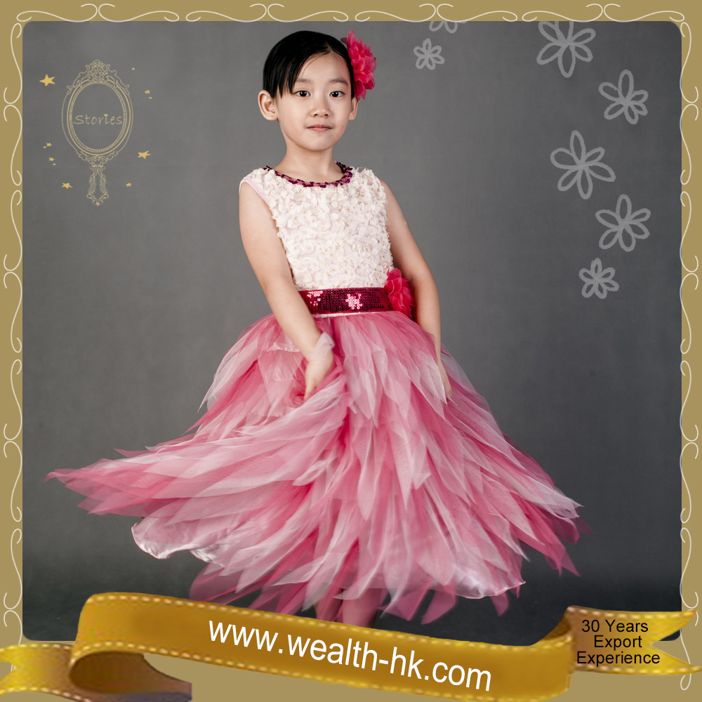 Sweetheart Princess Evening Dress kids Ball Gown Cocktail Fancy Dresses