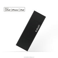 2016 New Products! Omars MFi Certified black 64G OTG USB Flash Drive for iPhone storage