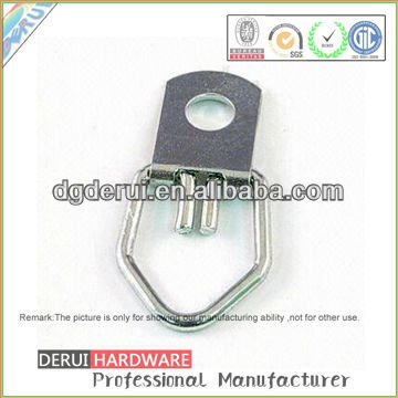 Iron Cabinet Chrome Plated Stamping hasp staple