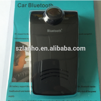 HandsFree Wireless Bluetooth Car Speaker Kit For Mobile Phone aux blue passat bluetooth car kit