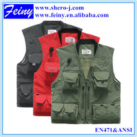 2016 Fashion designer uniform fly fishing vest