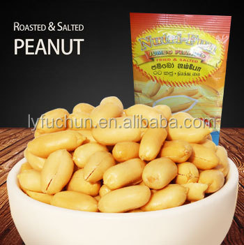 large size peanut snack natural taste pouch food