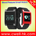 DM68 0.95'' OLED Touch Screen Blood Pressure Monitor Bluetooth 4.0 IP 67 Water Proof Smart Watch