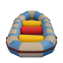 Hot sale 2017 new style Self-bailing white water river rafting boat inflatable rowing boat in good quality