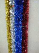 hot and cheap christmas foil garlands premium hang christmas tree tinsel garland