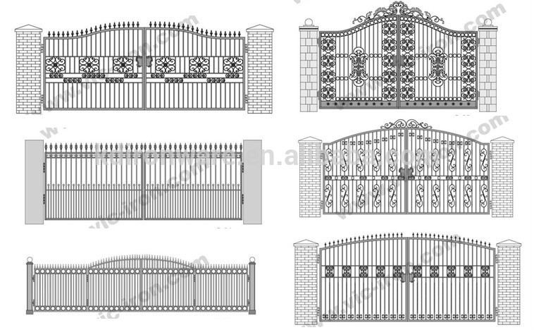 Different Steel Gate Designs Buy Different Steel Gate