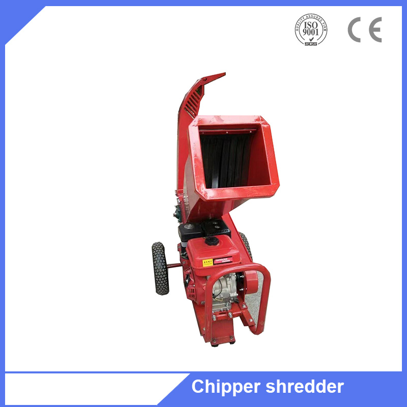 6.5HP gasoline engine Drive Chipper small tree branch chipper for garden