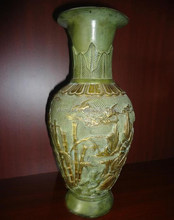 Chinese antique bronze vase
