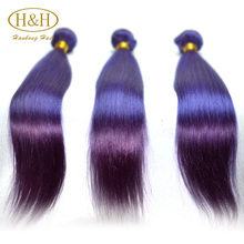 100 percent remy purple brazilian hair weaving wholesale weaving hair and beauty supplies