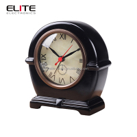 Quartz Polyresin table BB alarm clock