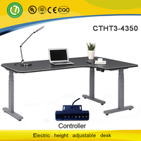 L feet design intelligent lifting desk computer desk High-end electric lift desk