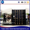 Hydraulic container houses Shipping 20ft home container cafe For Mobile cafe bar design and food Kiosk booth for sale