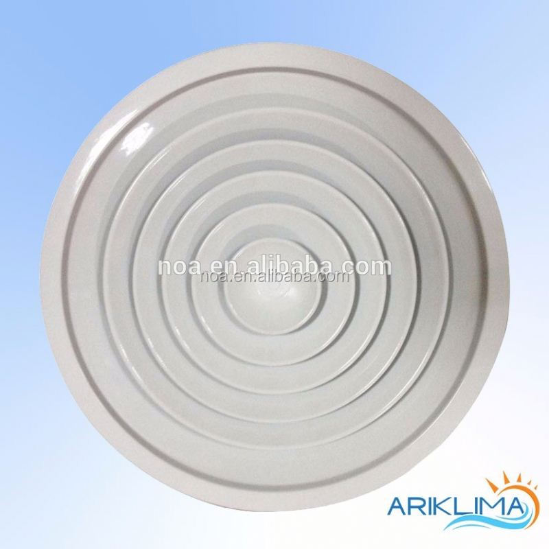 Aluminum OEM useful round floor vent air diffuser for ventilation system RCDN